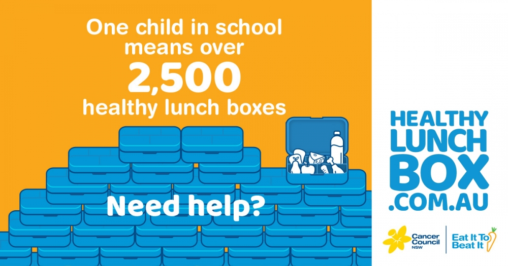 SydWest Supports Healthy Lunch Box Initiative