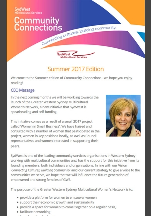 Newsletter Summer 2017