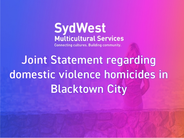 Joint Statement regarding domestic violence homicides in Blacktown City