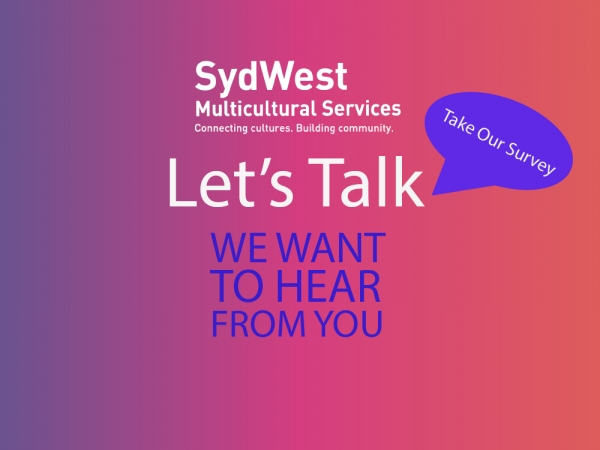 """Let's Talk"": Please take our short consumer and carer survey!"