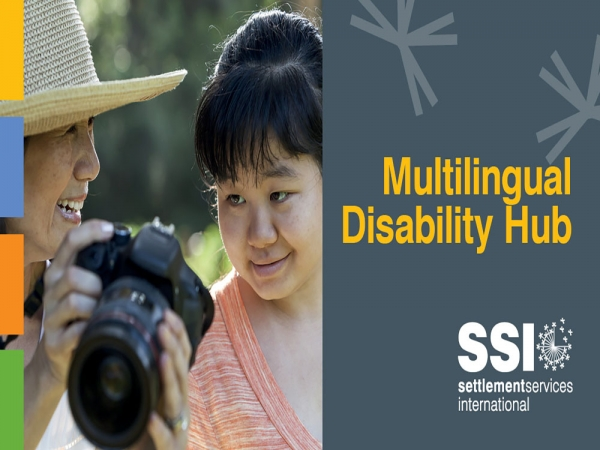 Multilingual Disability Hub - new service to access information in language
